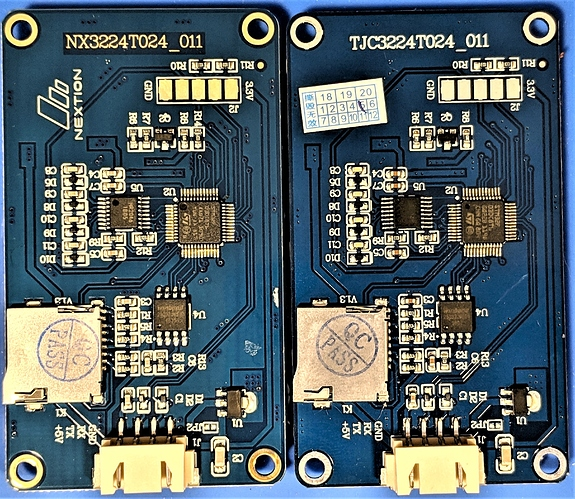 Nextion_vs_TJC-PCB