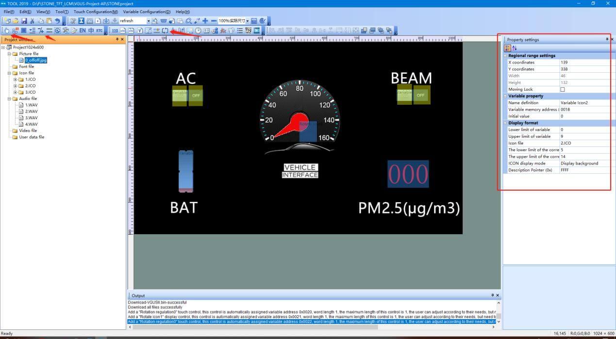 LCD-Screen-for-Car Dashboard